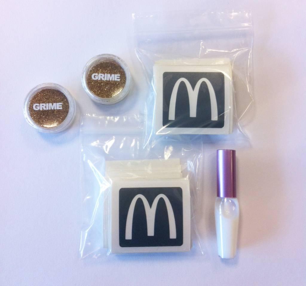 Glitter tattoo pakket McDonald's