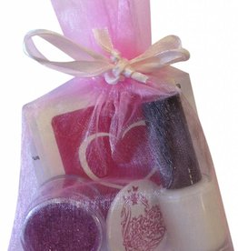 Glittertattoo cadeau set - love