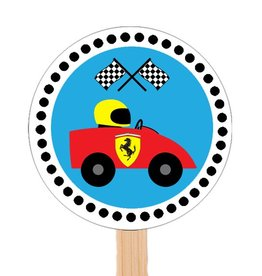Cupcake topper Ferrari