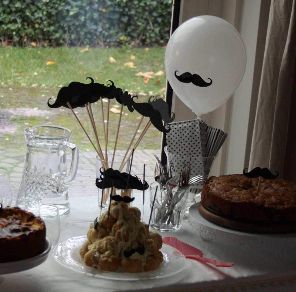 Cupcake topper snor