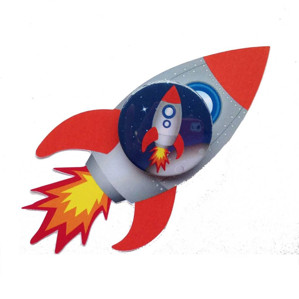Raket Traktatie Met Button Traktatiecorner Nl