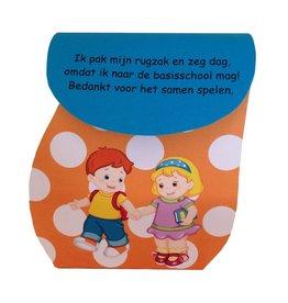 Traktatie Rugzak - Kindjes