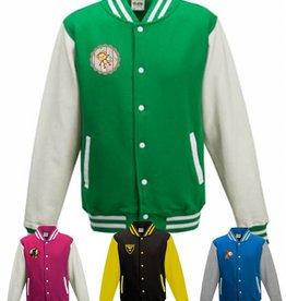 Varsity jacket met applicatie naar wens