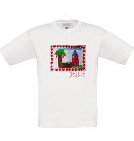 T-shirt met je eigen tekening