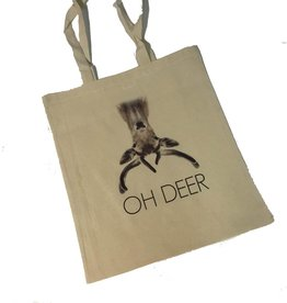 Linnen tas Oh deer
