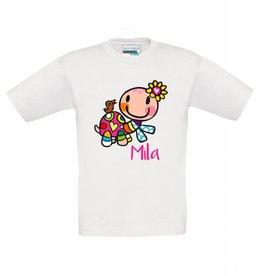 T-shirt schildpad meisje
