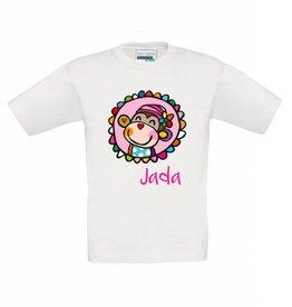 T-shirt aapje meisje
