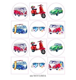 Stickers Volkswagen - 12 set