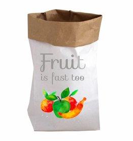 Papieren zak XL Fruit