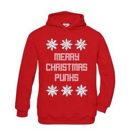 Foute kertsttrui Merry Christmas punks