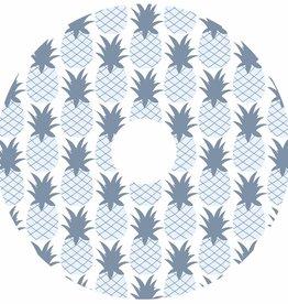 Rolstoelstickers voor spaakbeschermer - ananas