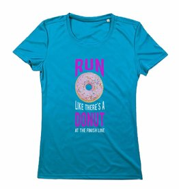 Sport shirt quick&dry - Run like there's a donut