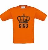 Koningsdag t-shirt - king