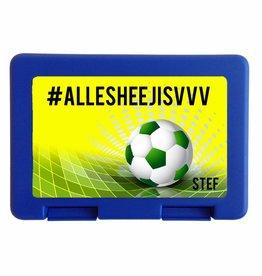 Lunchbox VVV met naam