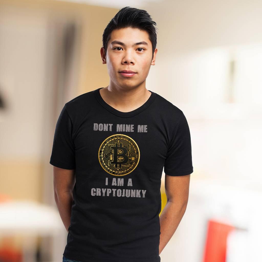 Bitcoin cryptojunky t-shirt