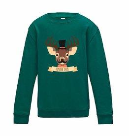 Hipster deer sweater