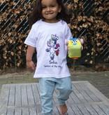 Unicorn Koningsdag t-shirt met naam