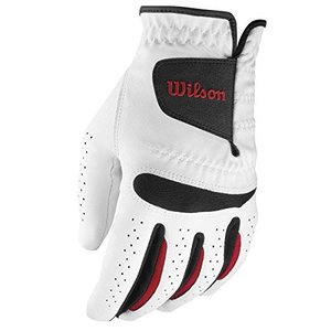 Wilson Staff Golf Heren Feel Plus Handschoen Standaard Links (2 pack)