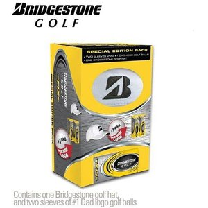 Bridgestone Cadeauverpakking Cap & 6 Golfballen