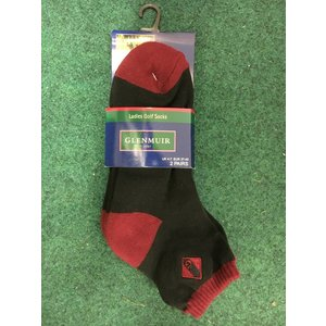 Glenmuir Dames korte sokjes 2 pack