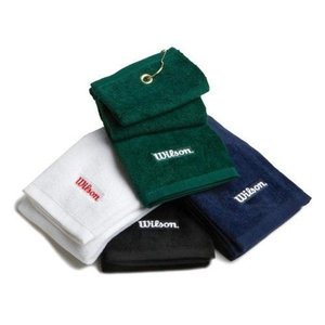Wilson Staff Golf Tri Fold Hand Towel green