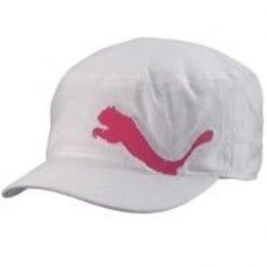 Puma Clairmont Military Cap - wit/ roze