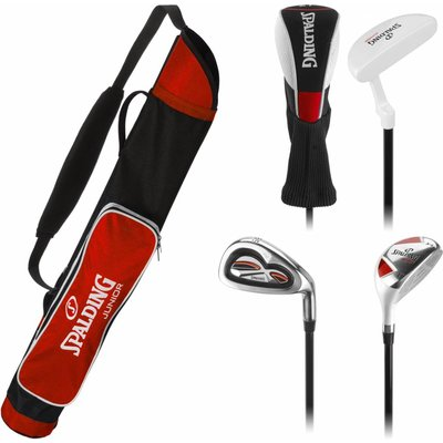Spalding Golf Junior set Rood (7-10 jaar)