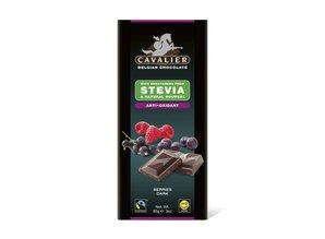 Cavalier Stevia Tablet Pure Chocolade met Bessen