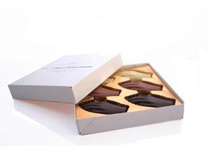 Antwerpse Handjes Chocolade - Gevuld - Kleine doos
