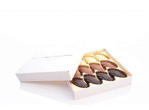 Antwerpse Handjes Chocolade - Zonder vulling - Kleine doos