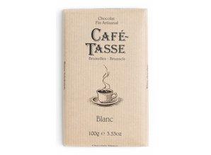 Café-Tasse Tablet Witte Chocolade
