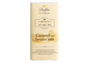 Dolfin Milk Chocolate with Butter Scotch Caramel