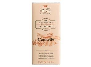 Dolfin Melkchocolade met Kaneel uit Ceylon