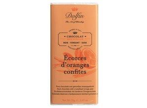 Dolfin Dark chocolate with Crystallized Orange Peel