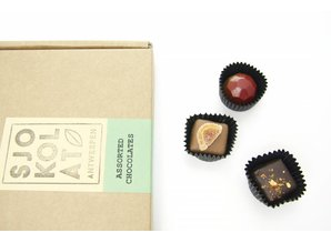SJOKOLAT 40 assorted chocolates in presentation box