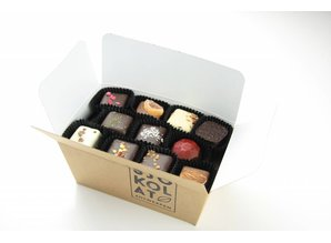 SJOKOLAT Assortment of 27 handmade chocolates
