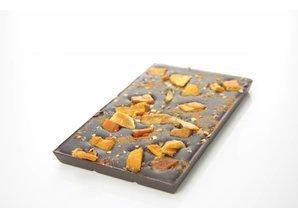 SJOKOLAT Tablet pure chocolade met mango en chilipeper