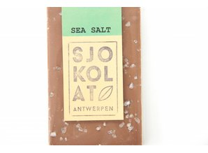 SJOKOLAT A bar of milk chocolate with sea salt
