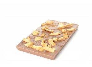SJOKOLAT Tablet melkchocolade met appel en kaneel
