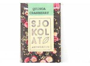 SJOKOLAT Pure chocolade met cranberry en quinoa