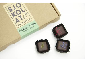 SJOKOLAT Assorted chocolates - Flower Power - 20 pieces