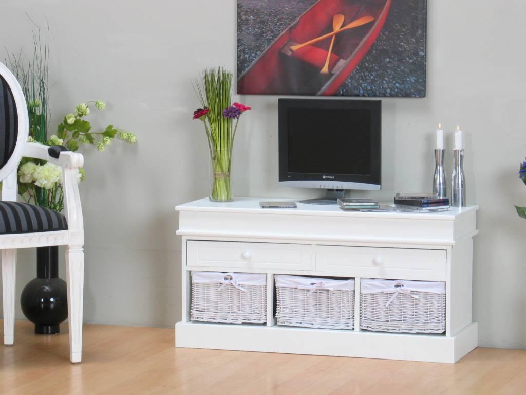 Tv meubel welkom wit   hioshop.nl   online meubels   goedkope meubels