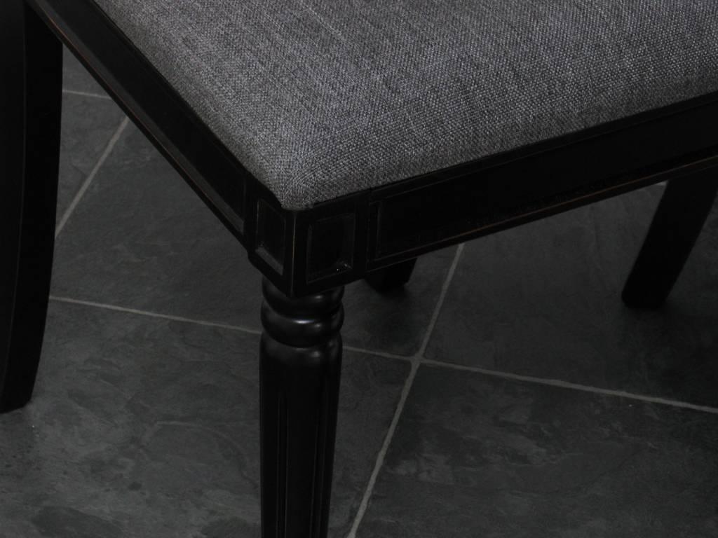Eetkamer Tafel Met Stoelen : Home Eethoek zwart eetkamer antiek barok ...