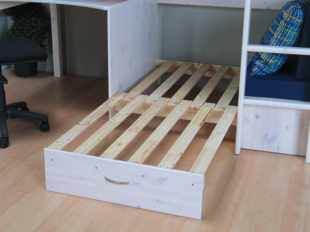 Hoogslaper met bureau gehoor geven aan uw huis - Versier een kleine woonkamer ...