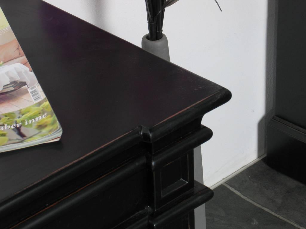 Tv kast mozart barok zwart   hioshop.nl   online meubels ...