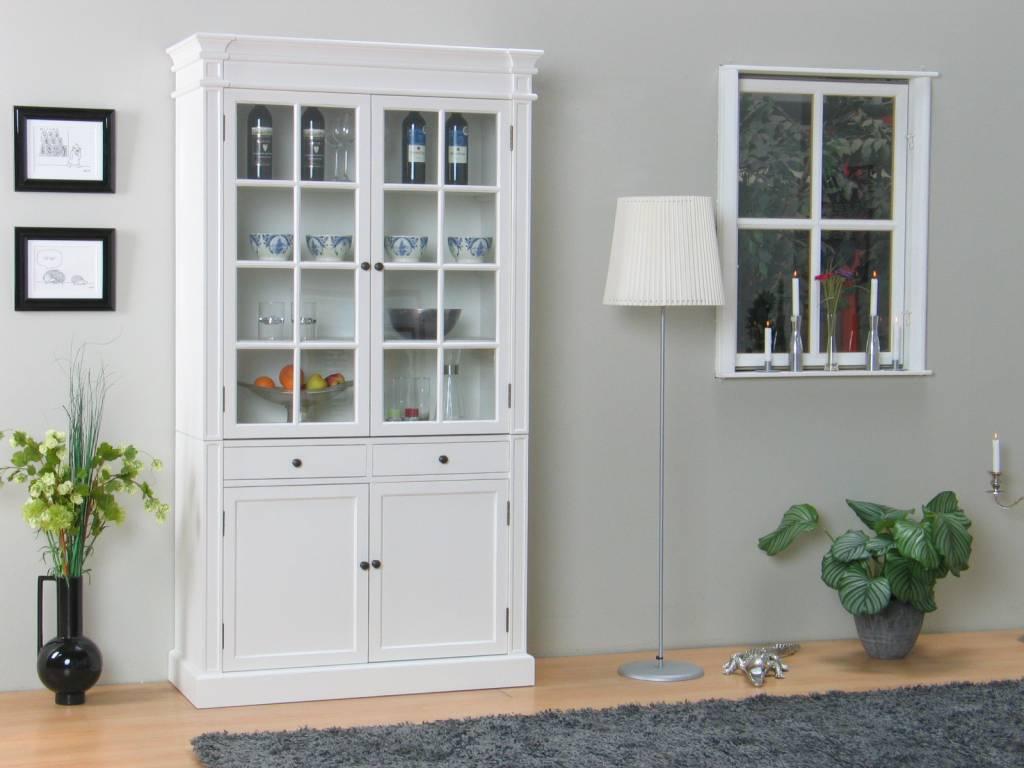 wit dressoir slaapkamer : Servieskast Mozart wit dressoir met opzet ...