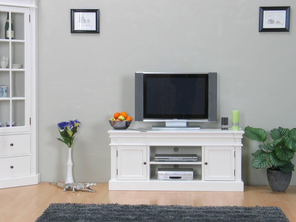 Tv meubel mozart wit   hioshop.nl   online meubels   goedkope meubels