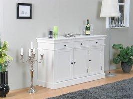 Mozart dressoir wit antiek patine 3drs