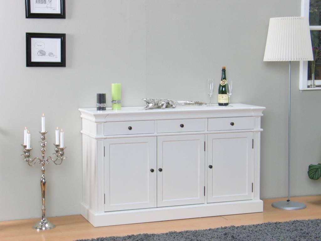 Mozart dressoir wit antiek patine 3drs - hioshop.nl - online meubels ...