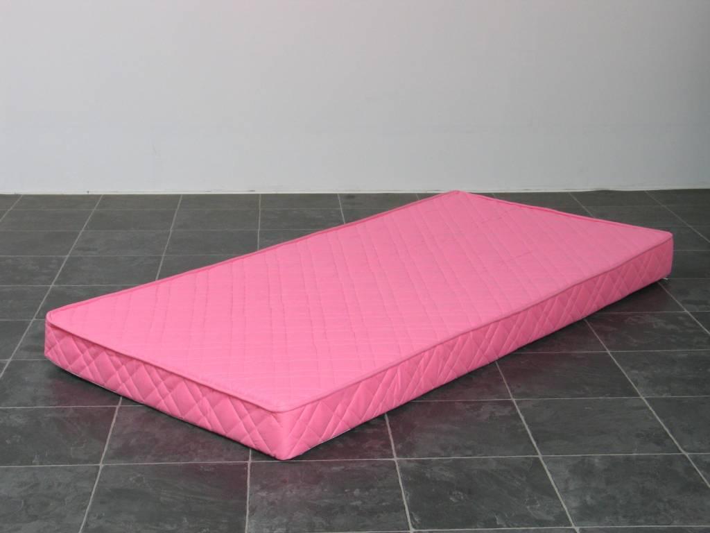Matras binnenvering Bonell kwaliteit voor tienerbed roze